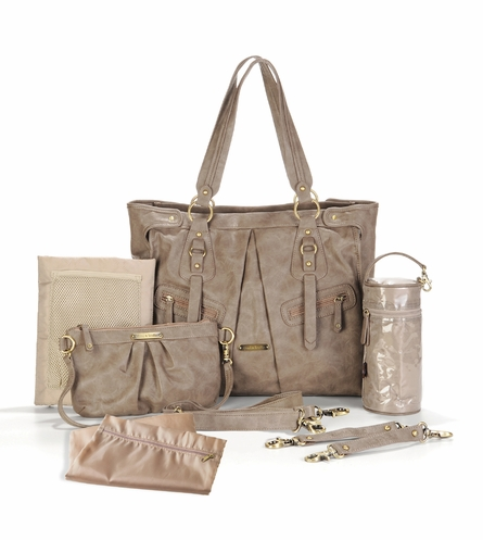 Dawn Diaper Bag - Taupe