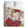 Dear Sweet Girl Duvet Cover