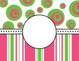 Deco Pink & Green $(+11.50)