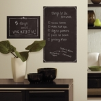 Decorative Chalkboard Peel & Stick Giant Wall Decals