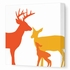 Deer Canvas Wall Art I
