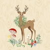 Deer Grove Canvas Wall Art