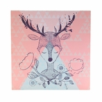 Deer Head Canvas Reproduction