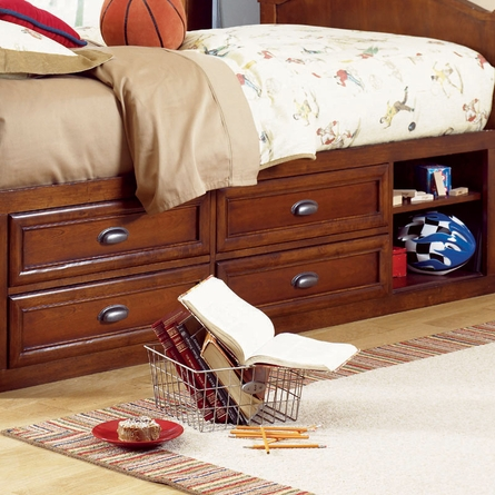 Deer Run Captains Bed - Twin