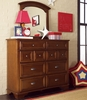 Deer Run Eight Drawer Bureau Dresser