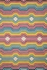 Delhi Rainbow Stripes Rug