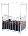 Delightful Iron Canopy Crib