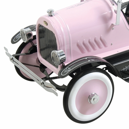 Deluxe Pink Roadster Pedal Car