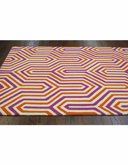 Demi Rug in Purple