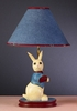 Denim Rabbit Lamp