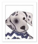 Dennis Dalmatian Framed Canvas Reproduction