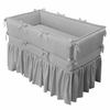 Design-Your-Own Custom Crib Bedding - Large Corded Bumper & Gathered Skirt