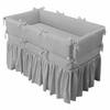 Design-Your-Own Custom Crib Bedding - Small Corded Bumper & Gathered Skirt
