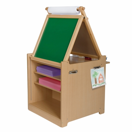 Desk to Easel Art Cart