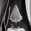 Destina Chandelier White