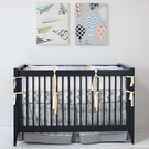 Bamboo Indigo Nursery Nautical Nursery Ideas Rosenberry