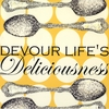 Devour Life's Deliciousness Canvas Wall Art