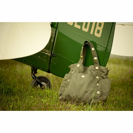 Dexter Diaper Bag in Army Green