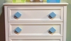 Diamond Aqua Drawer Pull