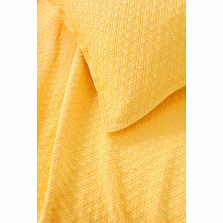 Diamond Canary Matelasse Coverlet