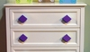 Diamond Dark Purple Drawer Pull