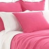 Diamond Flamingo Matelasse Euro Sham