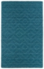 Diamond Imprints Modern Rug in Turquoise