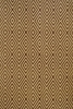 Diamond Indoor/Outdoor Rug in Brown and Khaki