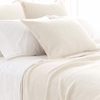 Diamond Ivory Matelasse Coverlet