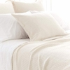 On Sale Diamond Ivory Matelasse Standard Sham