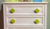 Diamond Lime Drawer Pull