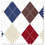 Diamond or Argyle Fabric