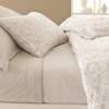 Diamond Platinum Matelasse Coverlet