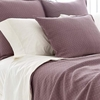 Diamond Plum Matelasse Euro Sham