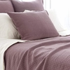 Diamond Plum Matelasse Standard Sham