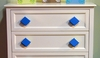 Diamond Primary Blue Drawer Pull