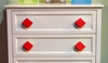 Diamond Primary Red Drawer Pull