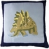 Dino Dave in Blue Quilt with Pillow Sham