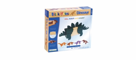 Dinosaur Block Mates - Set of 5