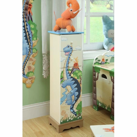 Dinosaur Kingdom 5 Drawer Chest