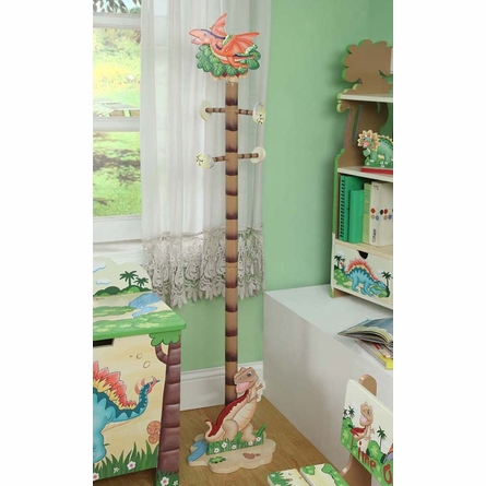 Dinosaur Kingdom Boys Coat Tree