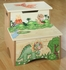 Dinosaur Kingdom Step Stool with Storage