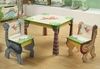 Dinosaur Kingdom Table with 2 Chairs Set