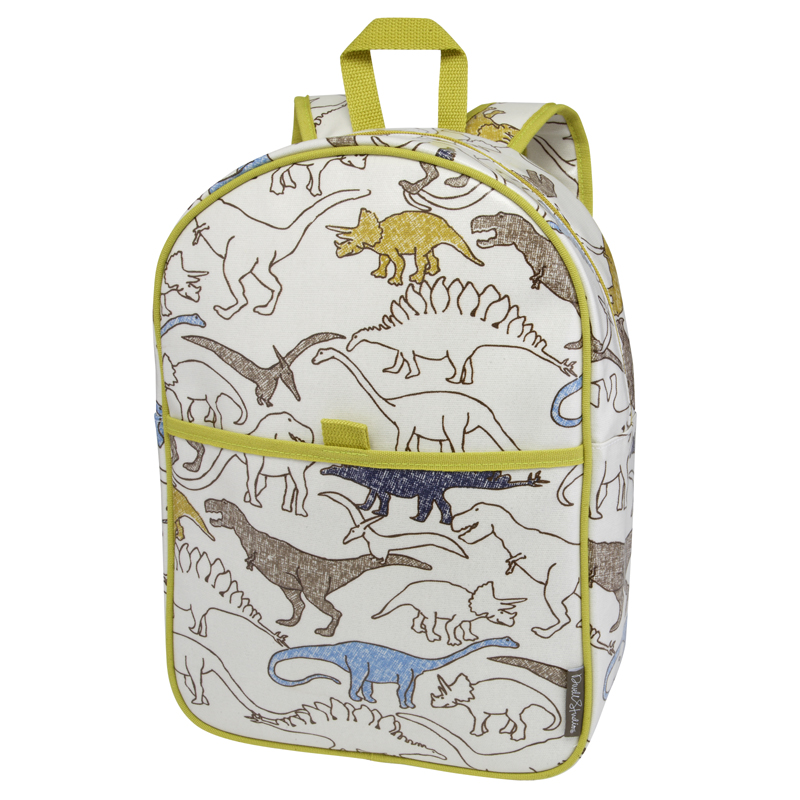 dinosaurs backpack by dwellstudio