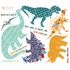 Dinosaurs Fabric Wall Decals