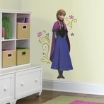 Disney Frozen Anna with Cape Wall Decals