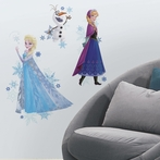 Disney Frozen Characters Giant Wall Decals