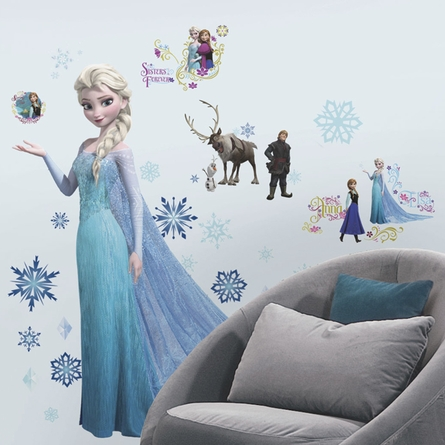 Disney Frozen Elsa Glitter Wall Decals