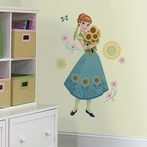 Disney Frozen Fever Anna Giant Wall Decals
