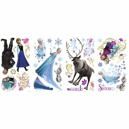 Disney Frozen Glitter Wall Decals